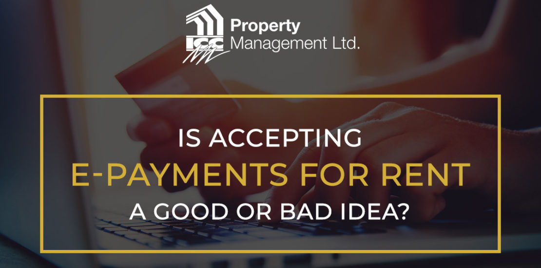 Taking E Payments for Rental Payments