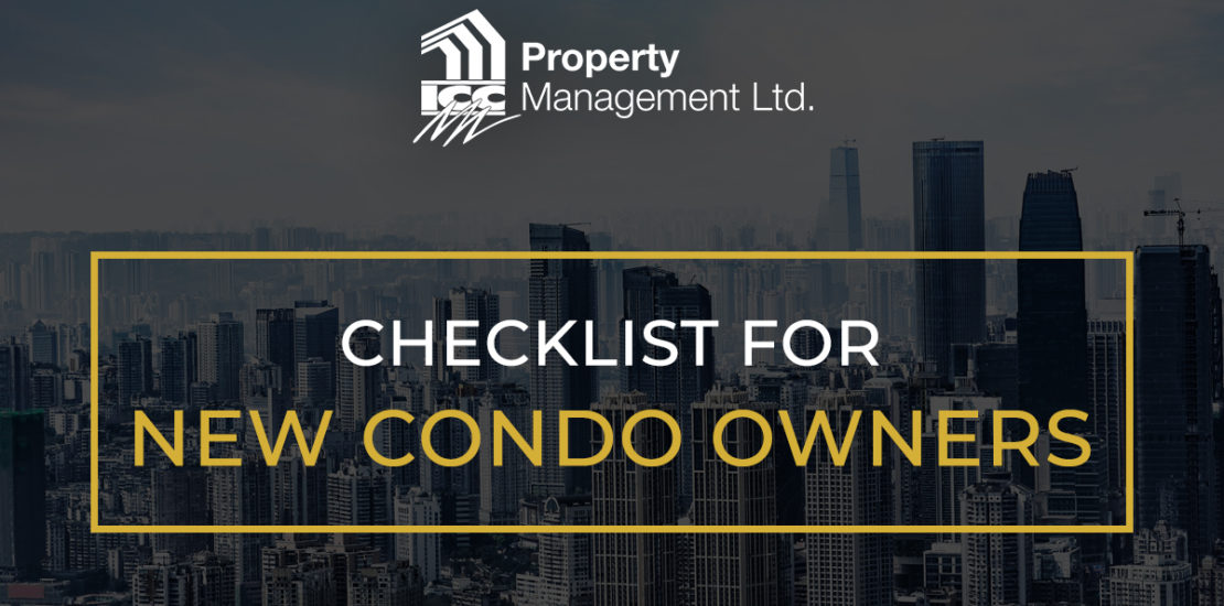 condo purchase checklist